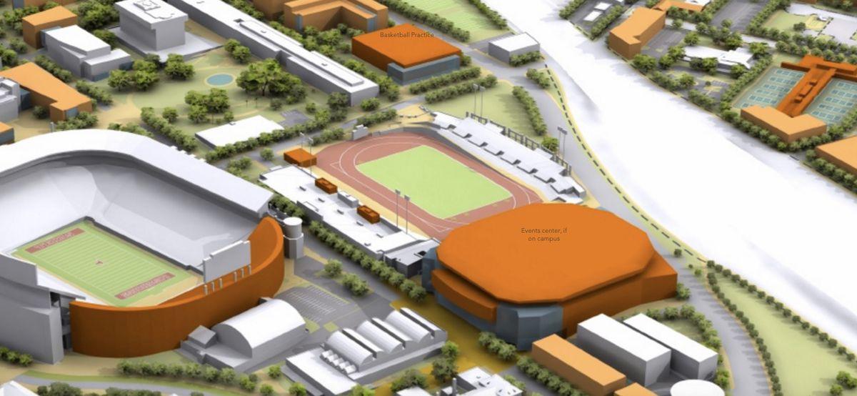erwin center replacement rendering