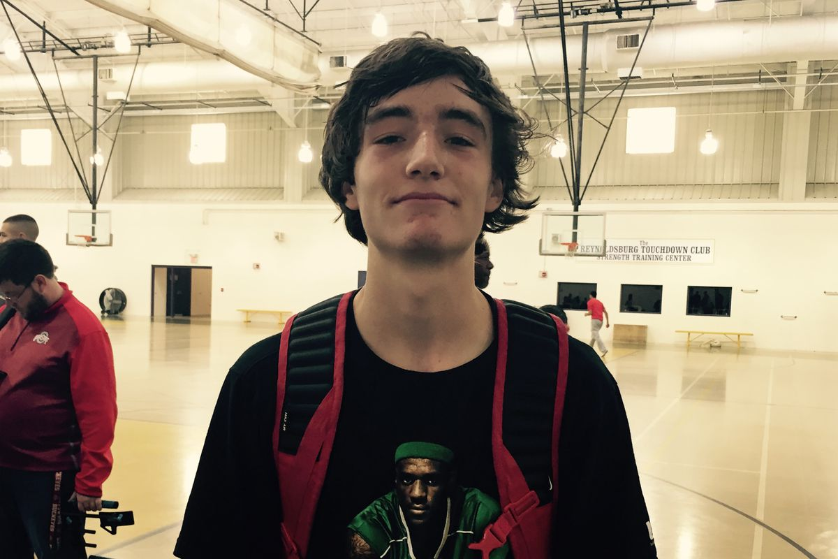 Delaware Hayes guard Will Yoakum was Sunday's top performer