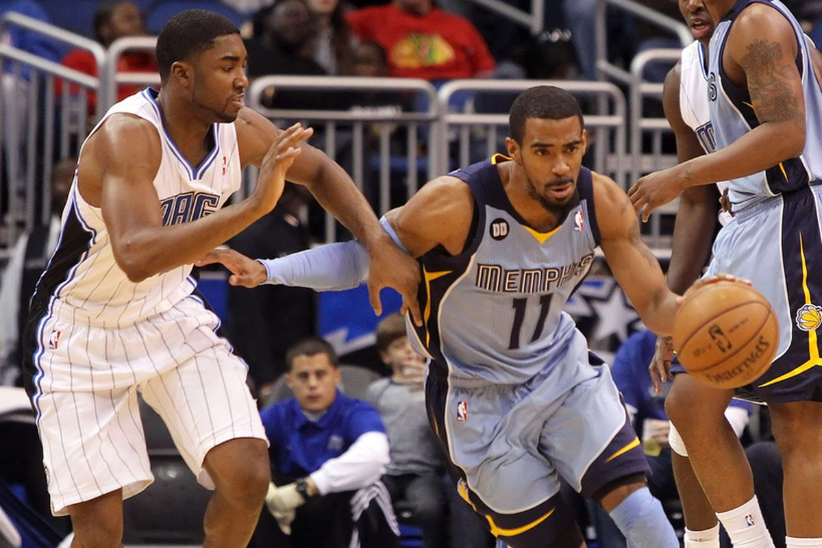 E'Twaun Moore and Mike Conley
