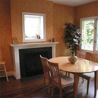 After Home Staging: Dining Table