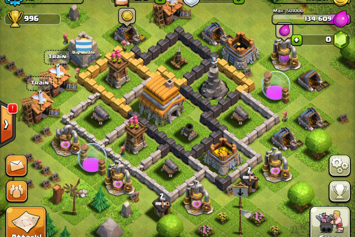 Clash of clans review.