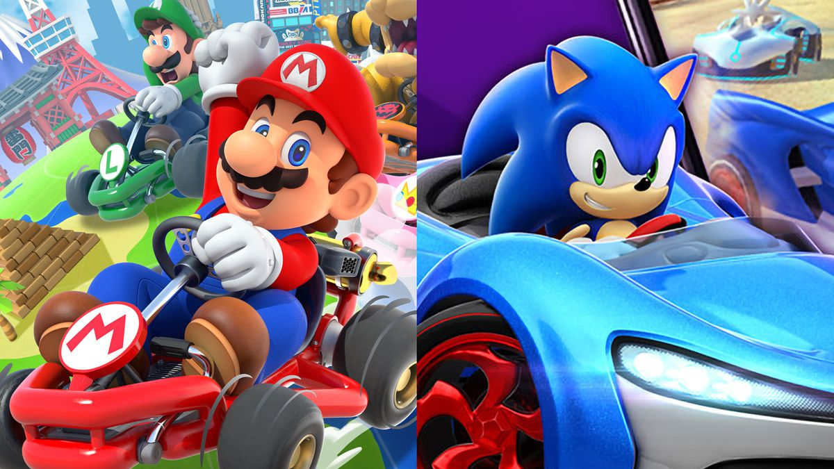 Mario Kart Tour vs  Sonic Racing: Which game should you play