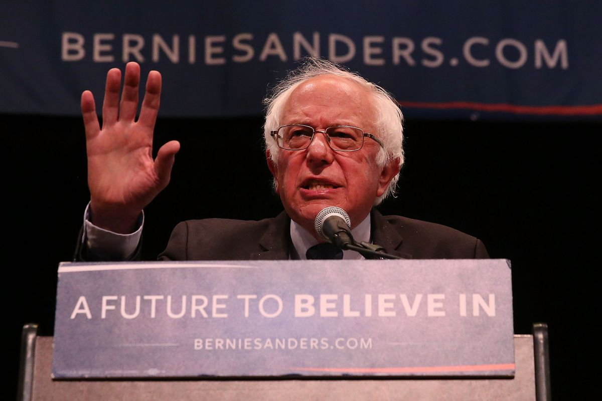Bernie Sanders is pushing the Democrats' party platform to the left. Does that matter?
