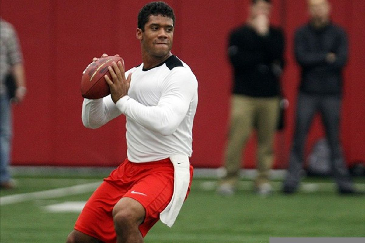 Russell Wilson has demonstrated that he has all the tools to be an NFL caliber quarterback. Questions about his height will likely knock him into the late rounds of the 2012 NFL Draft, however.
