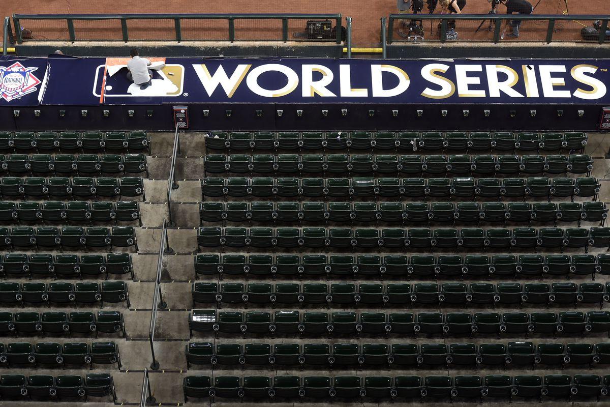 2017 Major League Baseball World Series Workout Day: Los Angeles Dodgers v. Houston Astros