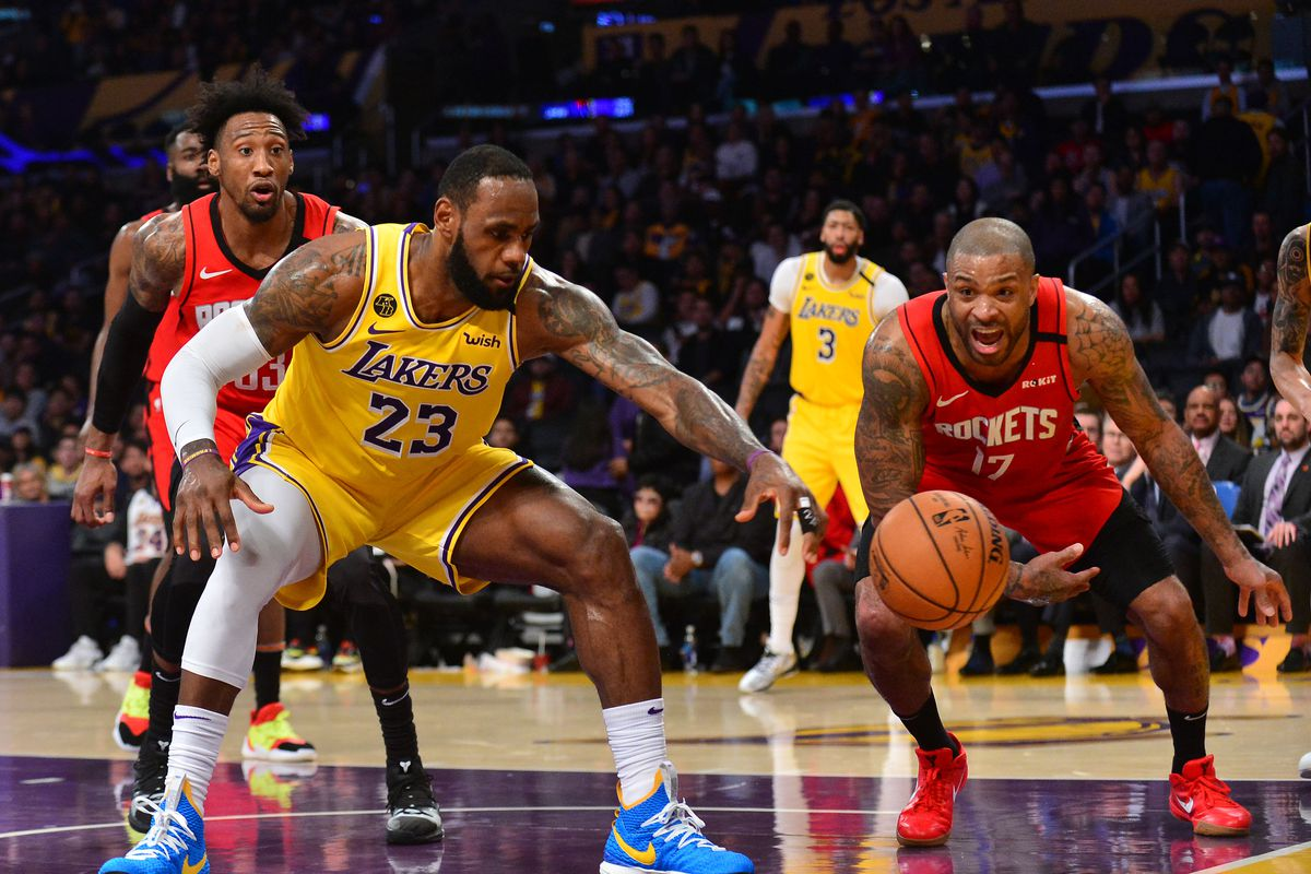 Houston Rockets Vs Los Angeles Lakers Seeding Game Preview The Dream Shake