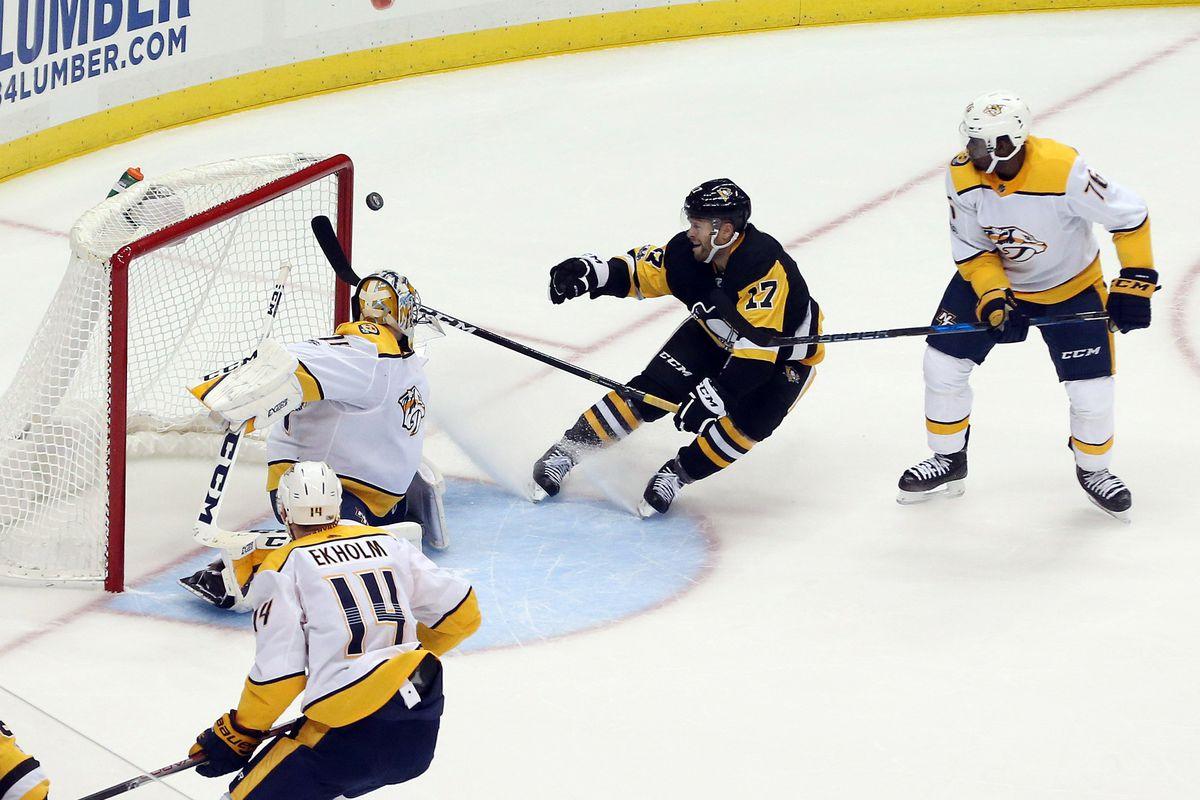 brand new 47bc2 f7aac Nashville Predators @ Pittsburgh Penguins 3/29/2019: lines ...