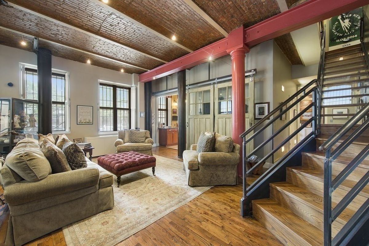 Dumbo Apartment With Barrel Vaulted Ceilings Asks 3 2m