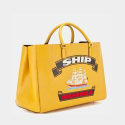 Anya Hindmarch Ebury Maxi Featherweight Ship Household Tote, $2,295