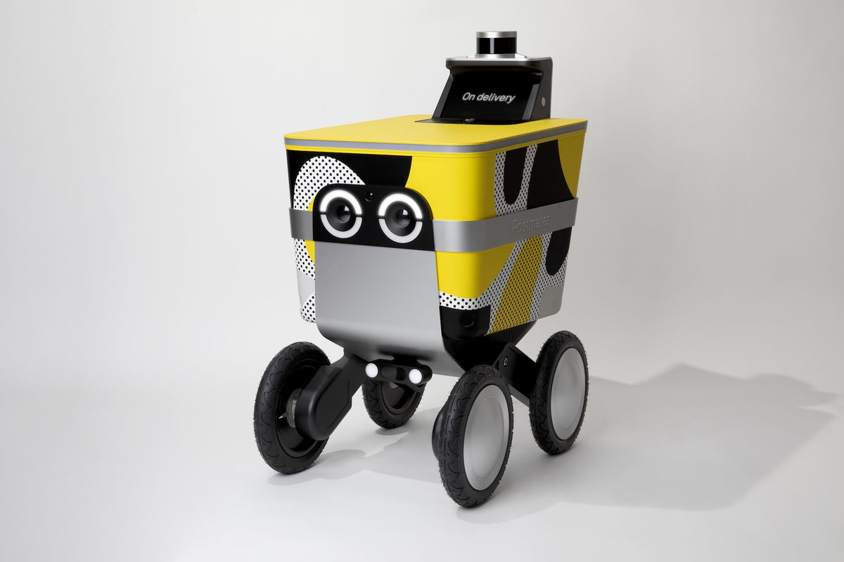 Postmates Begins Inevitable Robot Takeover With Roving LA Delivery