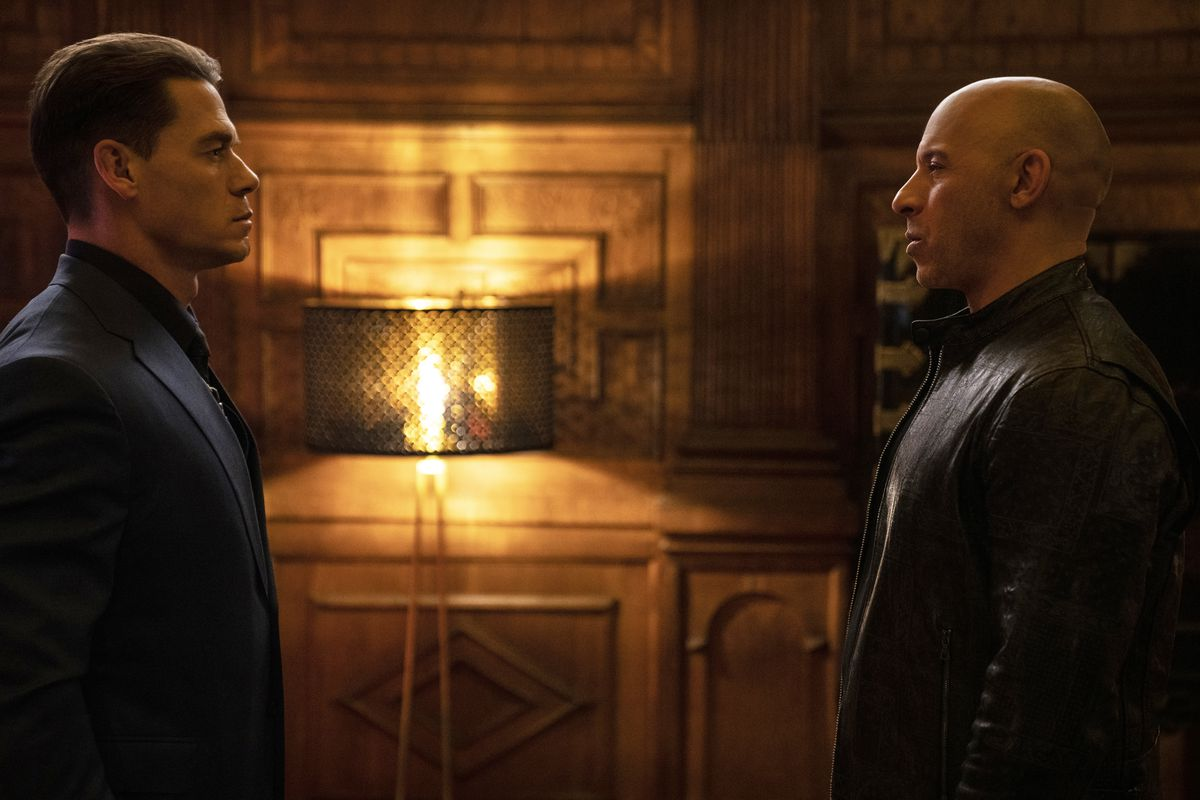 Jakob and Dominic Toretto face off in F9.