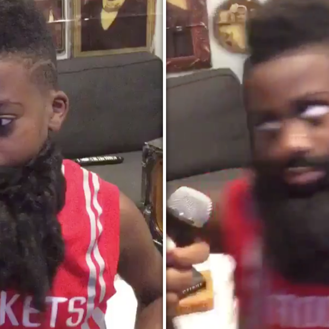 5bbf934ded6 This kid s James Harden side eye impression is perfect - SBNation.com