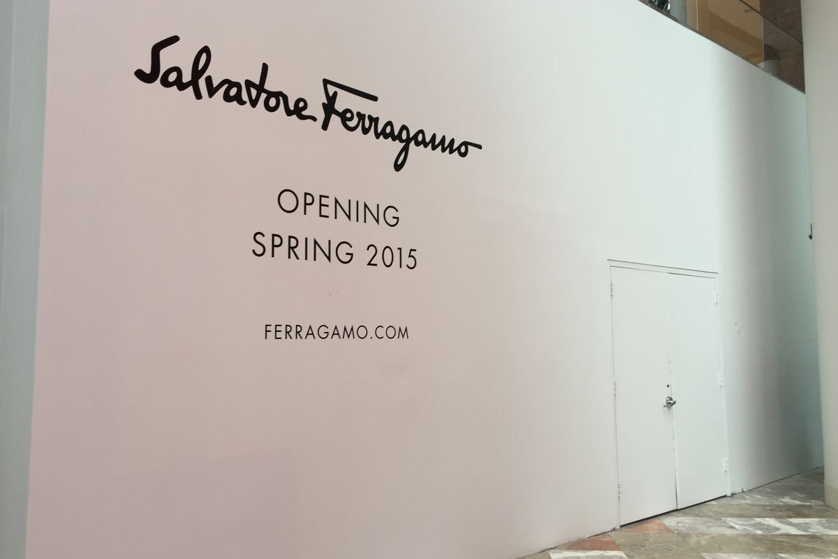 salvatore ferragamo debuts at brookfield place tomorrow racked ny