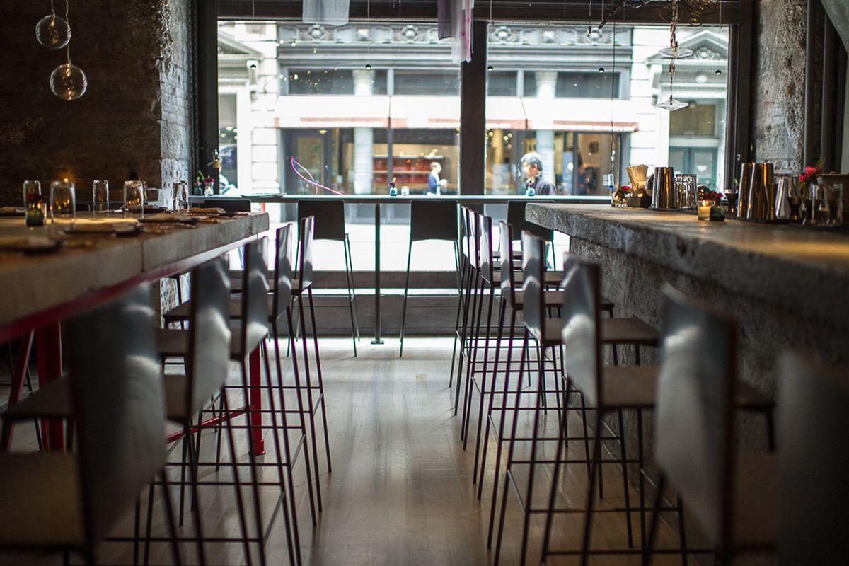 [The bar at ABC Cocina]