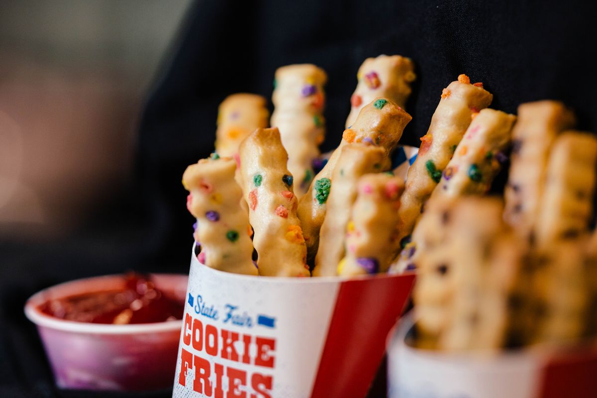 Fries made out of cookie dough