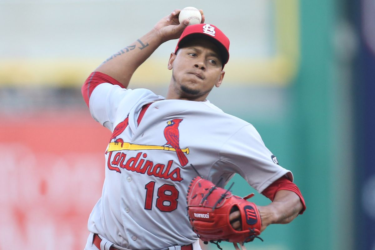 Amid flashes of dominance, Martinez struggled in the Cardinals' 7-5 loss to the Pirates.