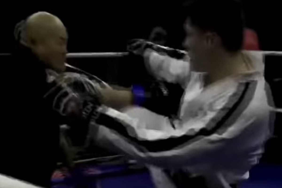 Video: Kung fu vs  Taekwondo fight ends in third round TKO