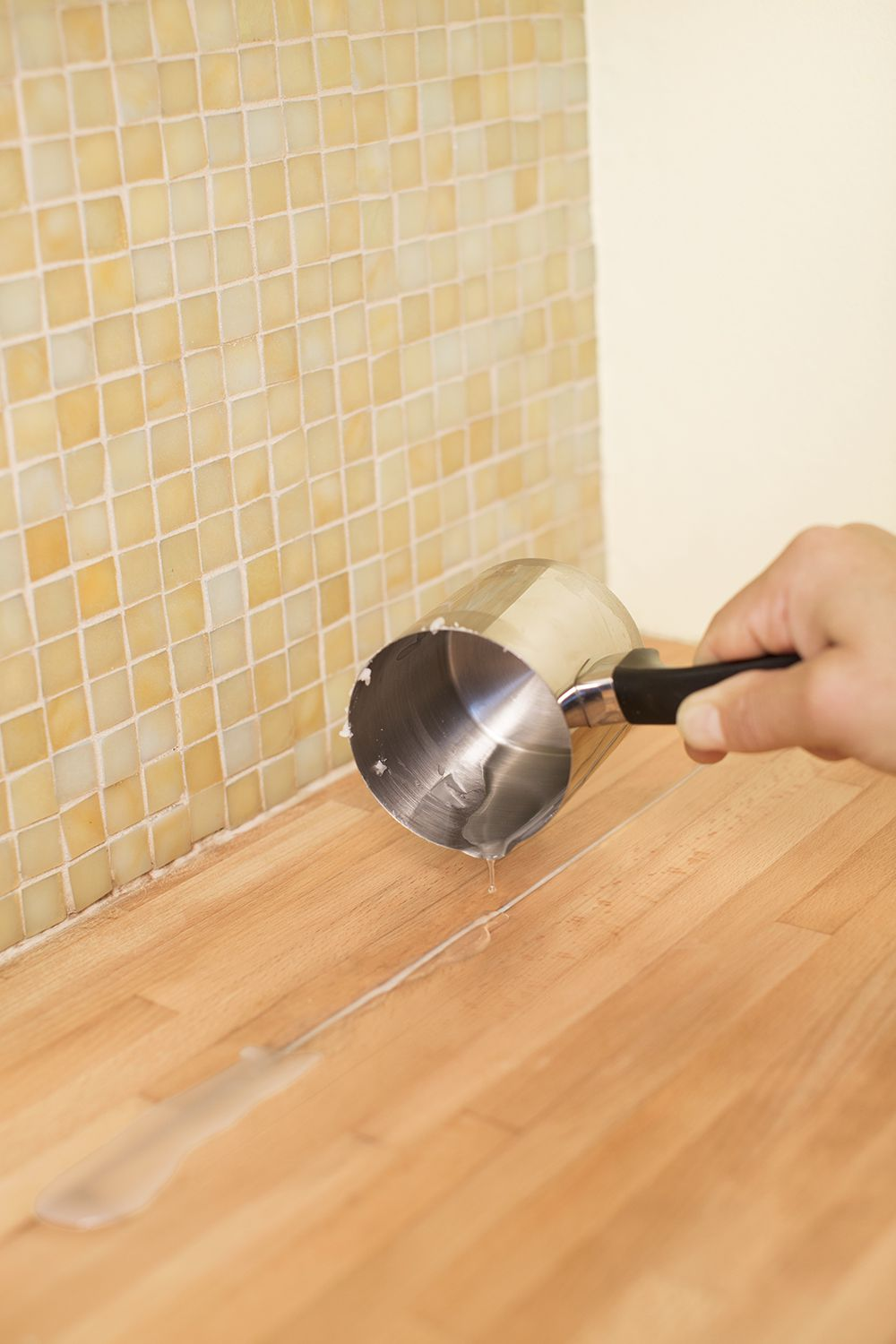 Restoring a Butcher-Block Countertop - This Old House