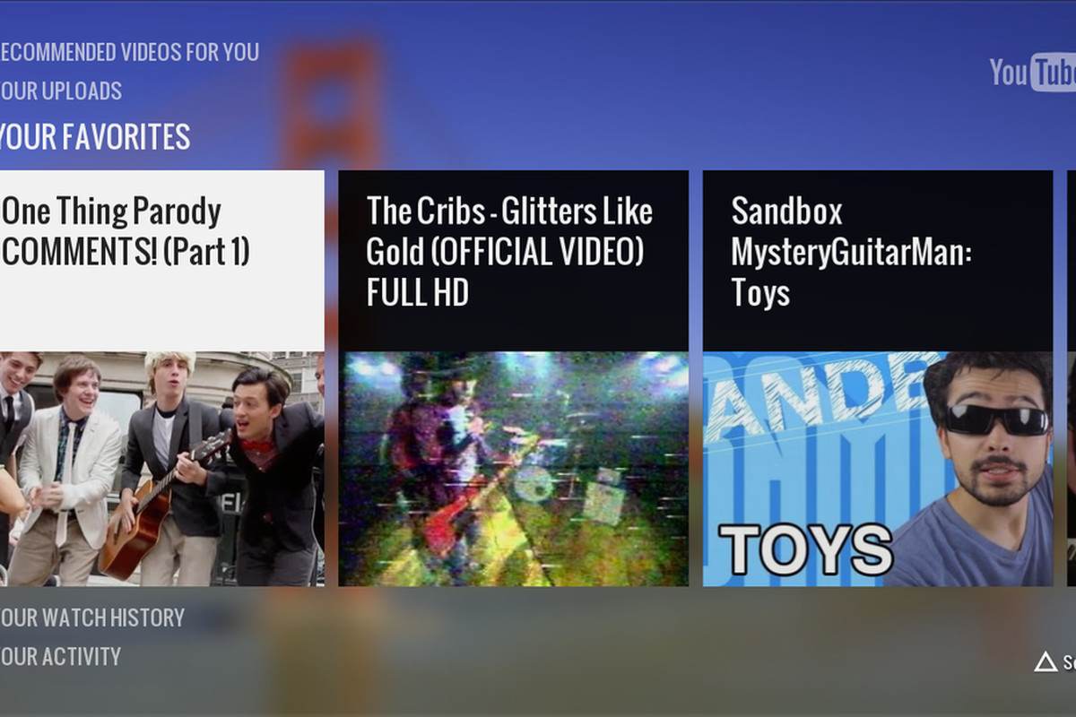 PlayStation 3 finally has a native YouTube app, adds