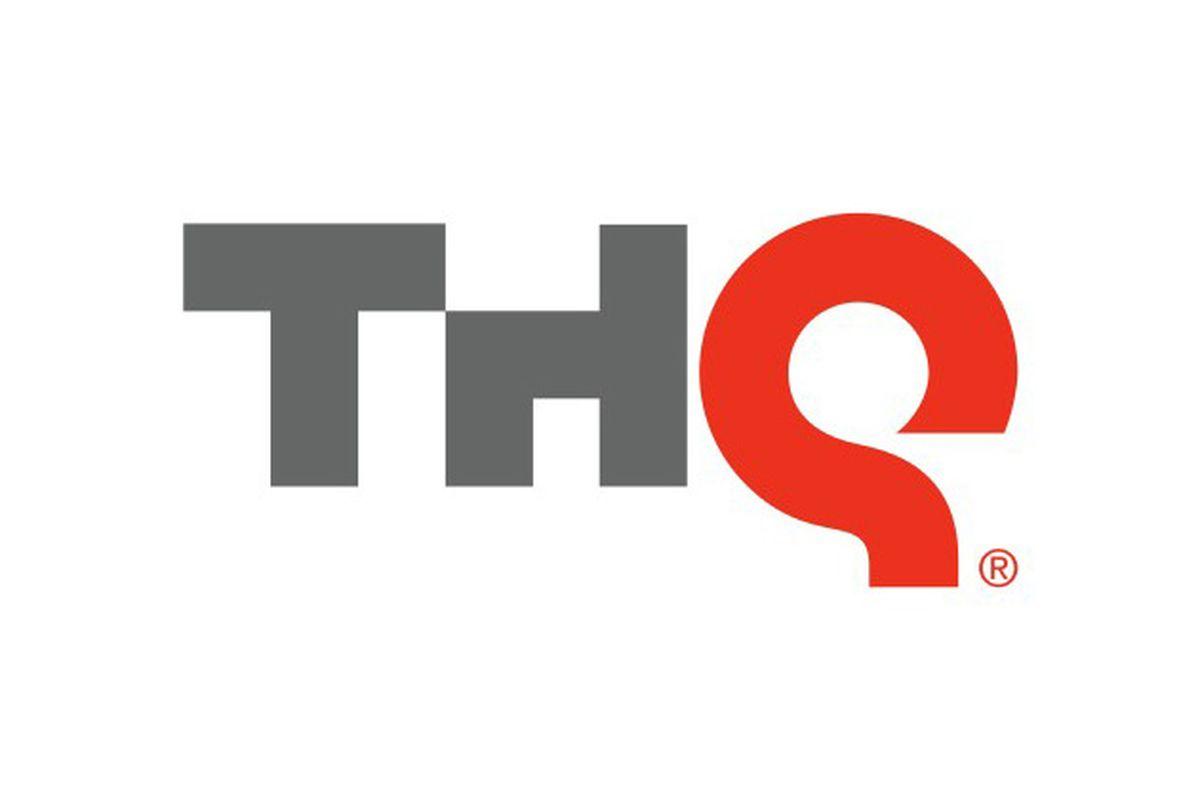 THQ logo white