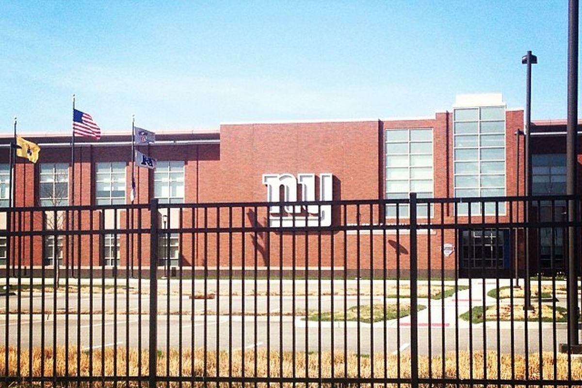 New York Giants' headquarters in East Rutherford, N.J.