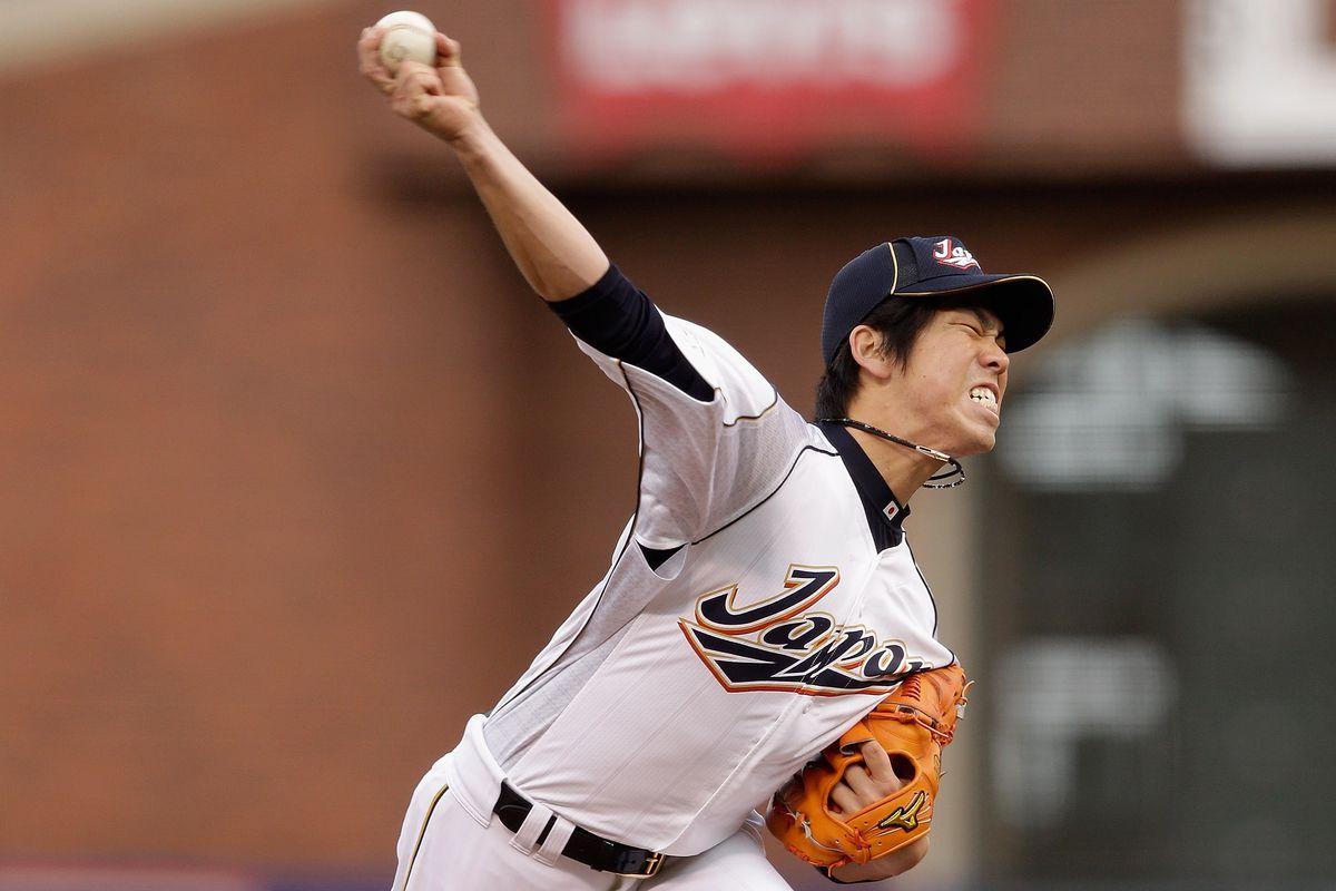 Maeda, in the 2013 World Baseball Classic