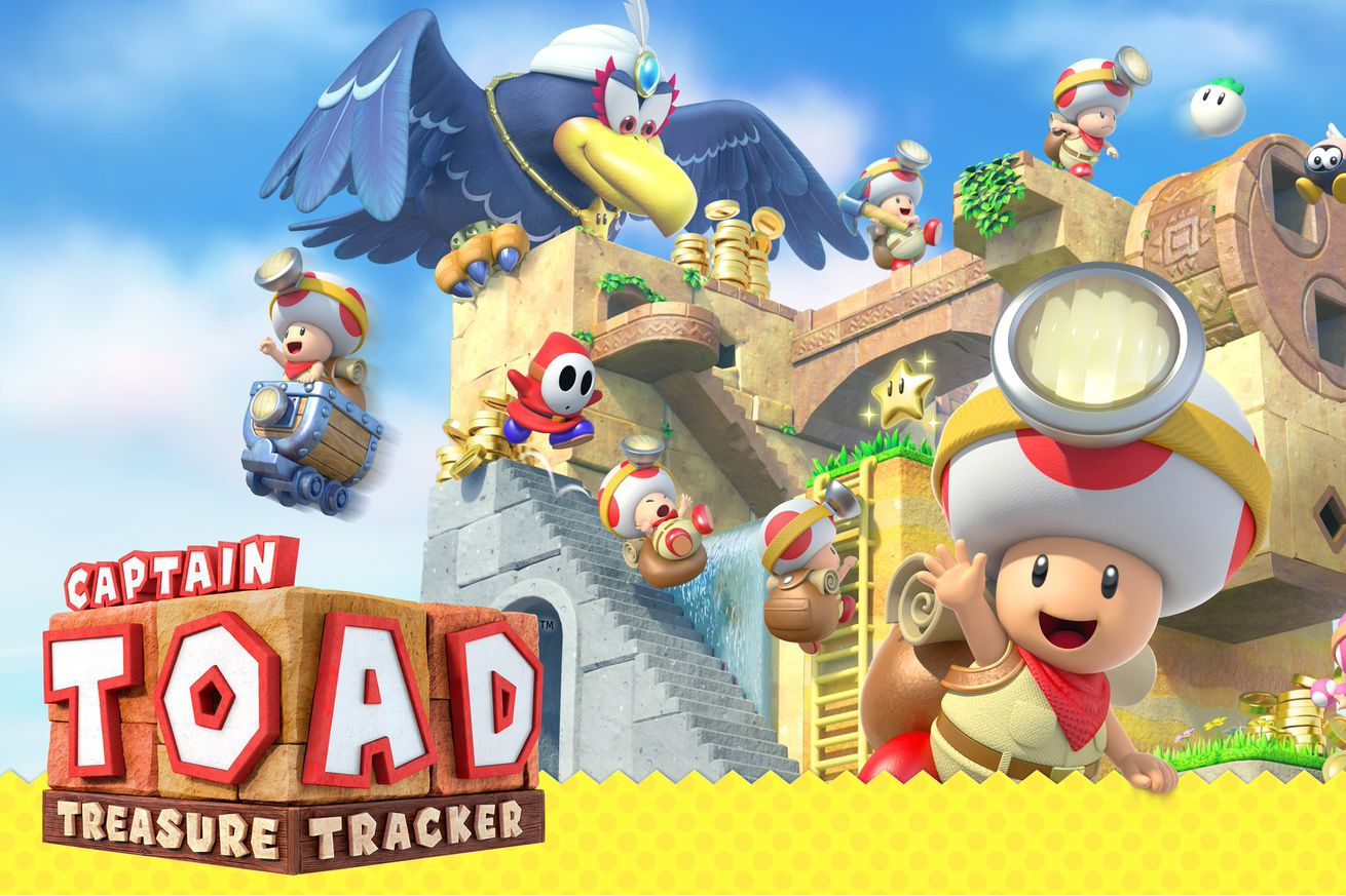 the nintendo switch is getting captain toad a splatoon expansion and much more