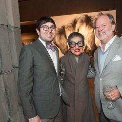 Marc Scoppettone, fashion maven and philanthropist Joy Bianchi, and Stephen Brady