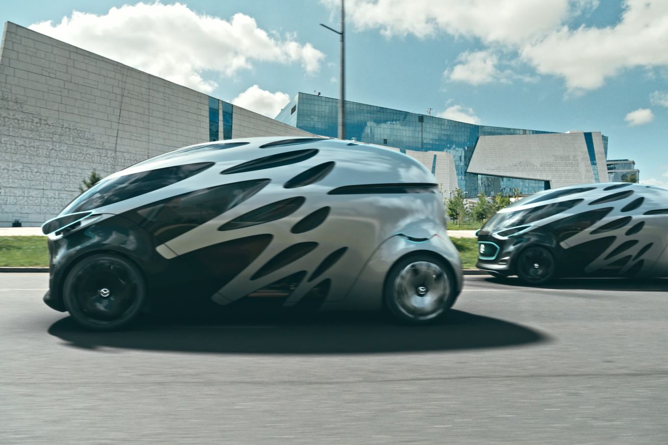 mercedes benz s new mobility concept is autonomous electric modular and ugly