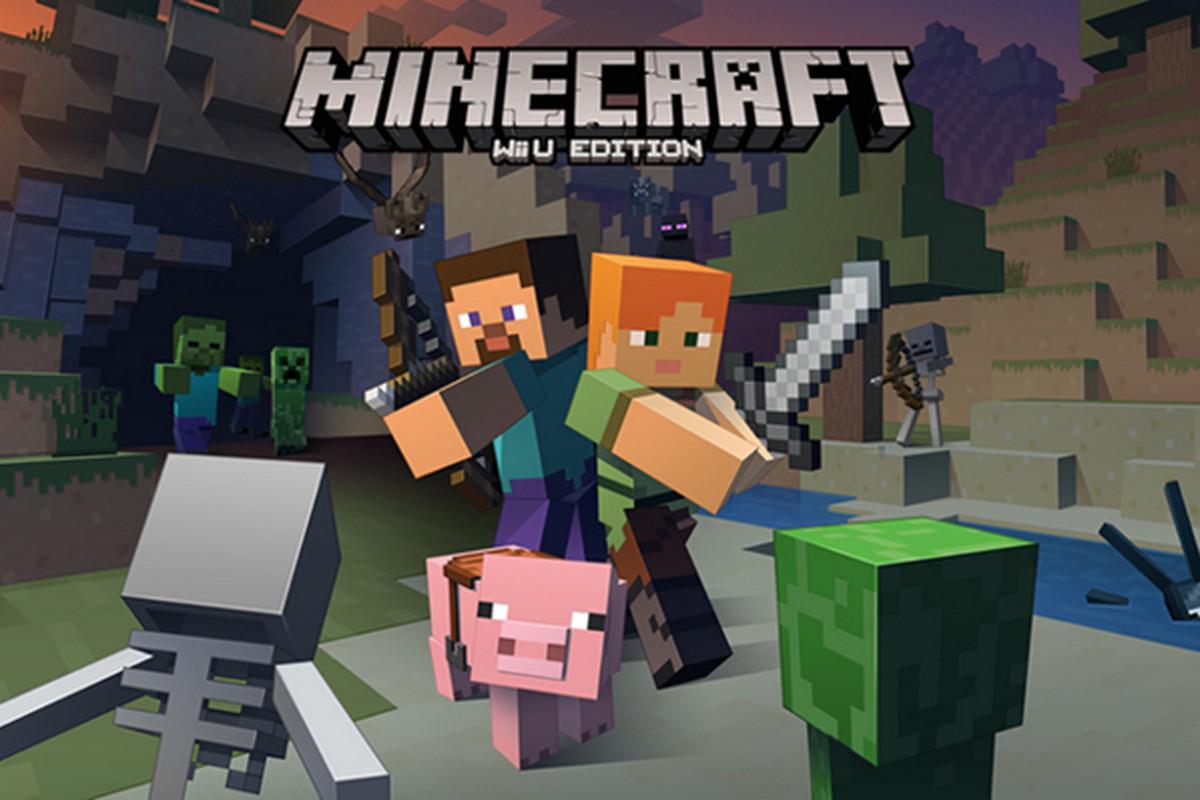 Minecraft Hits Wii U On Dec Includes Six Packs And GamePad Play - Skins fur minecraft wii u