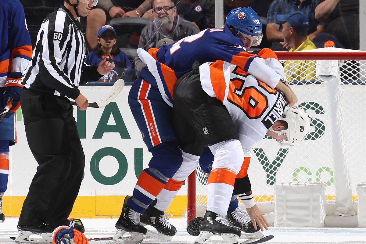 What did Kurtis Gabriel do to the Islanders?