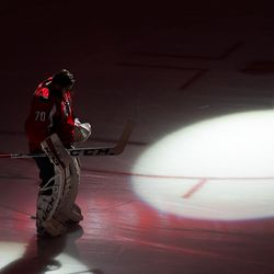 Holtby Lit Before Game