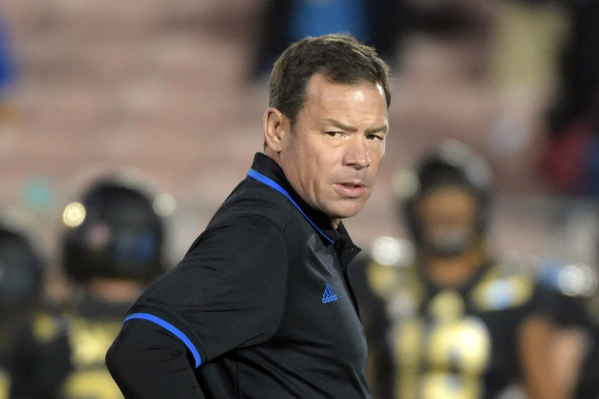 Jim Mora cannot be pleased with the results of last night's game.
