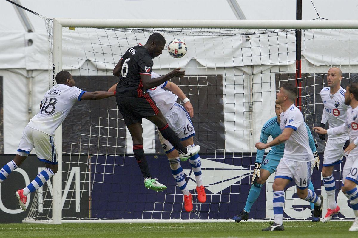 MLS: Montreal Impact at D.C. United
