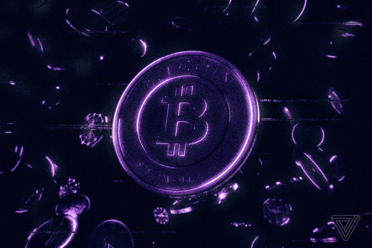 An illustration of bitcoin