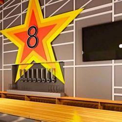 8th Wonder Brewery taproom rendering by Mak Studio