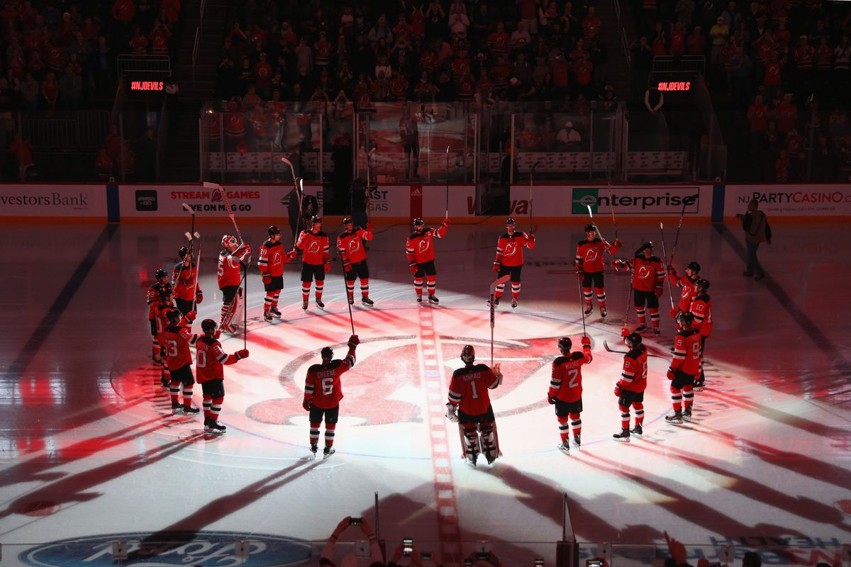huge selection of bb4c0 fd6de Report: New Jersey Devils dissolving partnership with ...