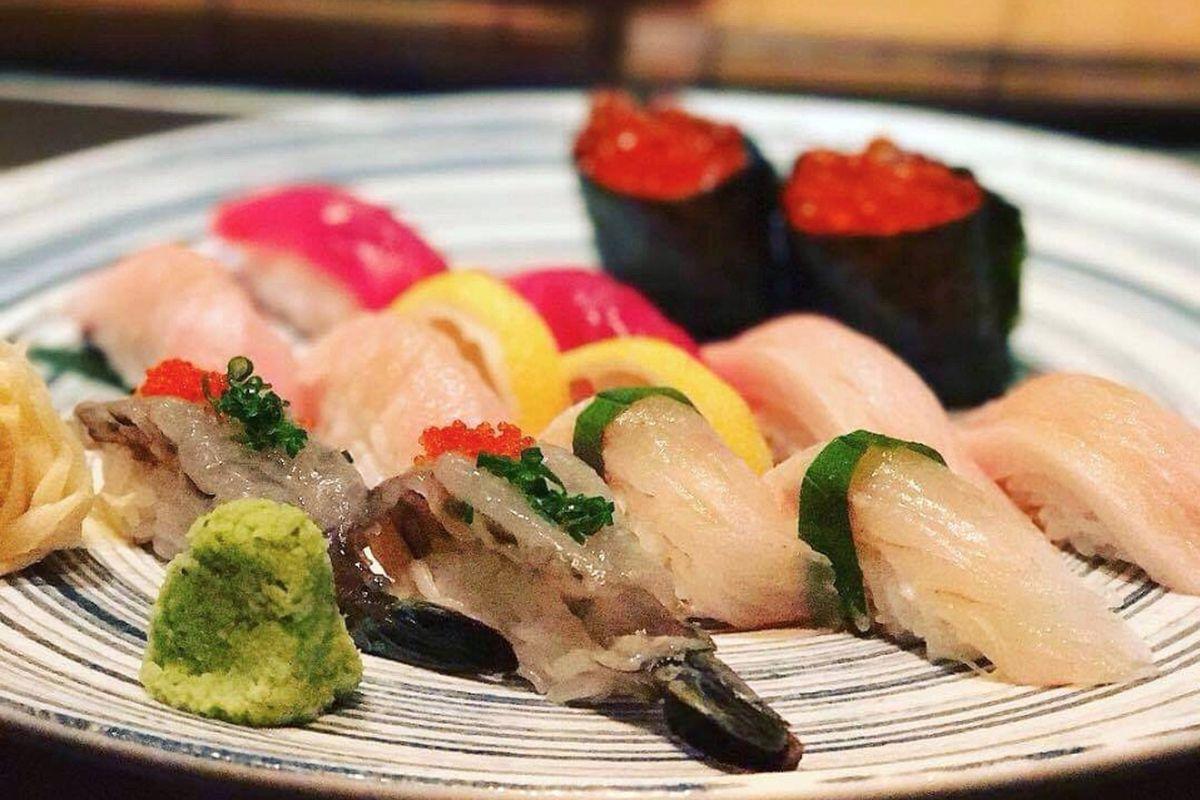 Nigiri from Blowfish sushi