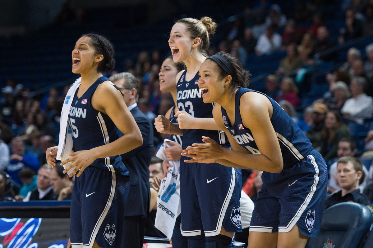 hot sale online 5851e 0aab7 Katie Lou Samuelson Leads UConn Women's Basketball Past ...