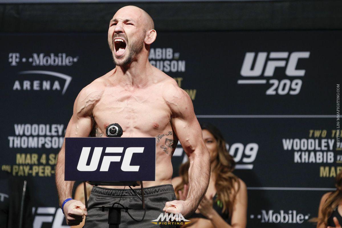 UFC 209 Ceremonial Weigh-in Photos