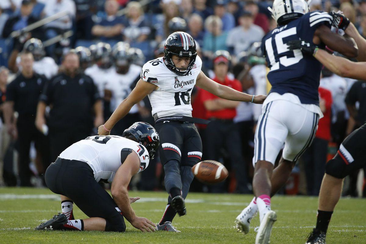 NCAA Football: Cincinnati at Brigham Young