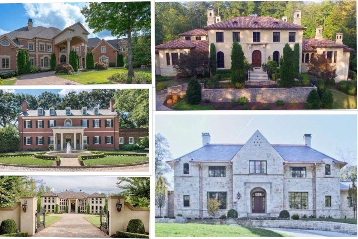 A photo compilation of $5M+ residence around metro Atlanta.