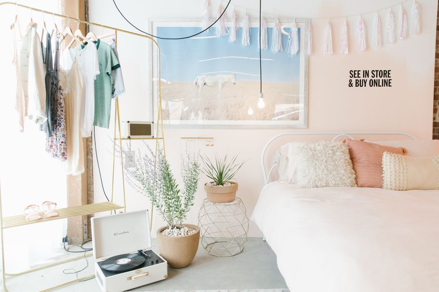 Urban outfitters s first home showroom is a magical place for Room decor urban outfitters uk