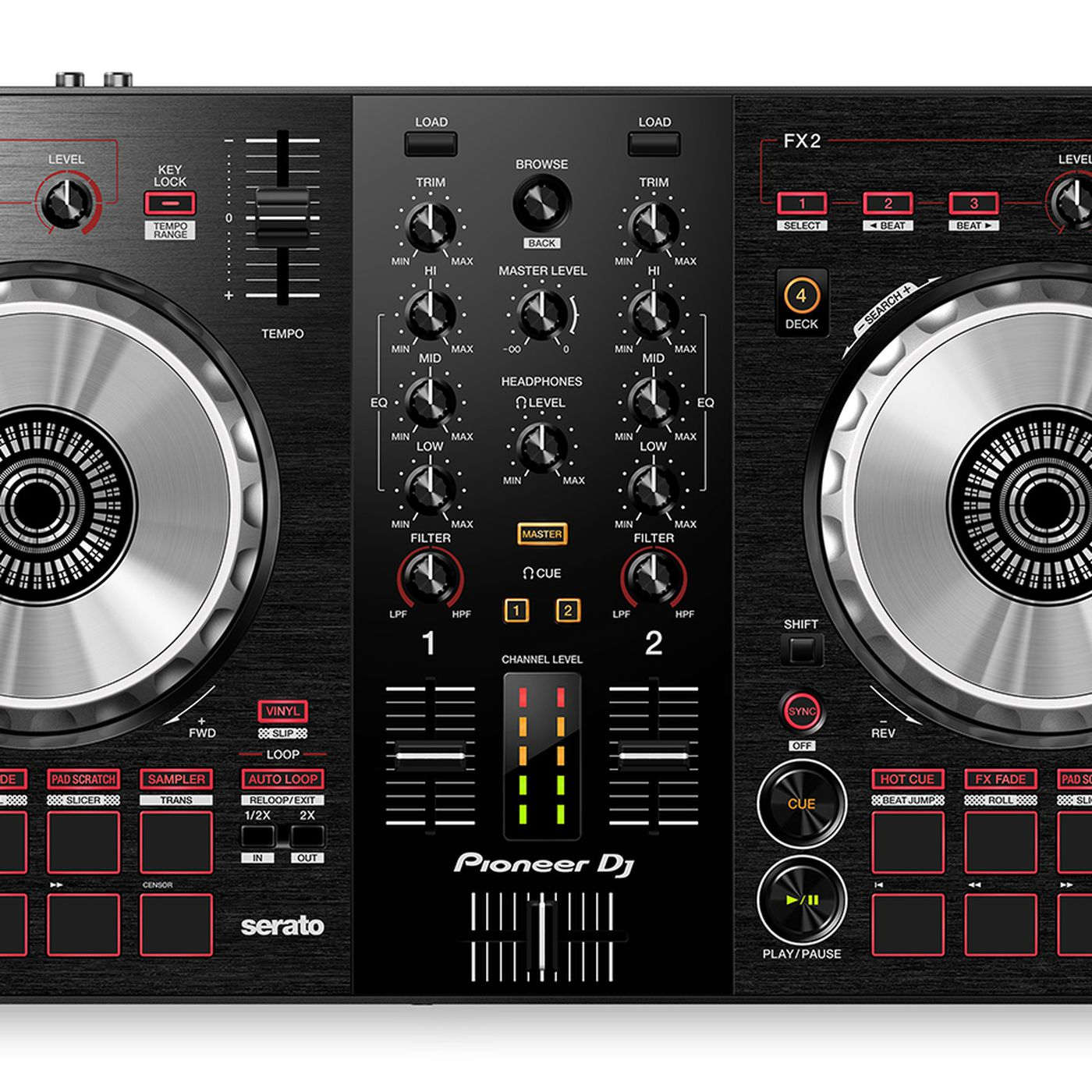 Pioneer DJ's new controller lets anyone perform complicated