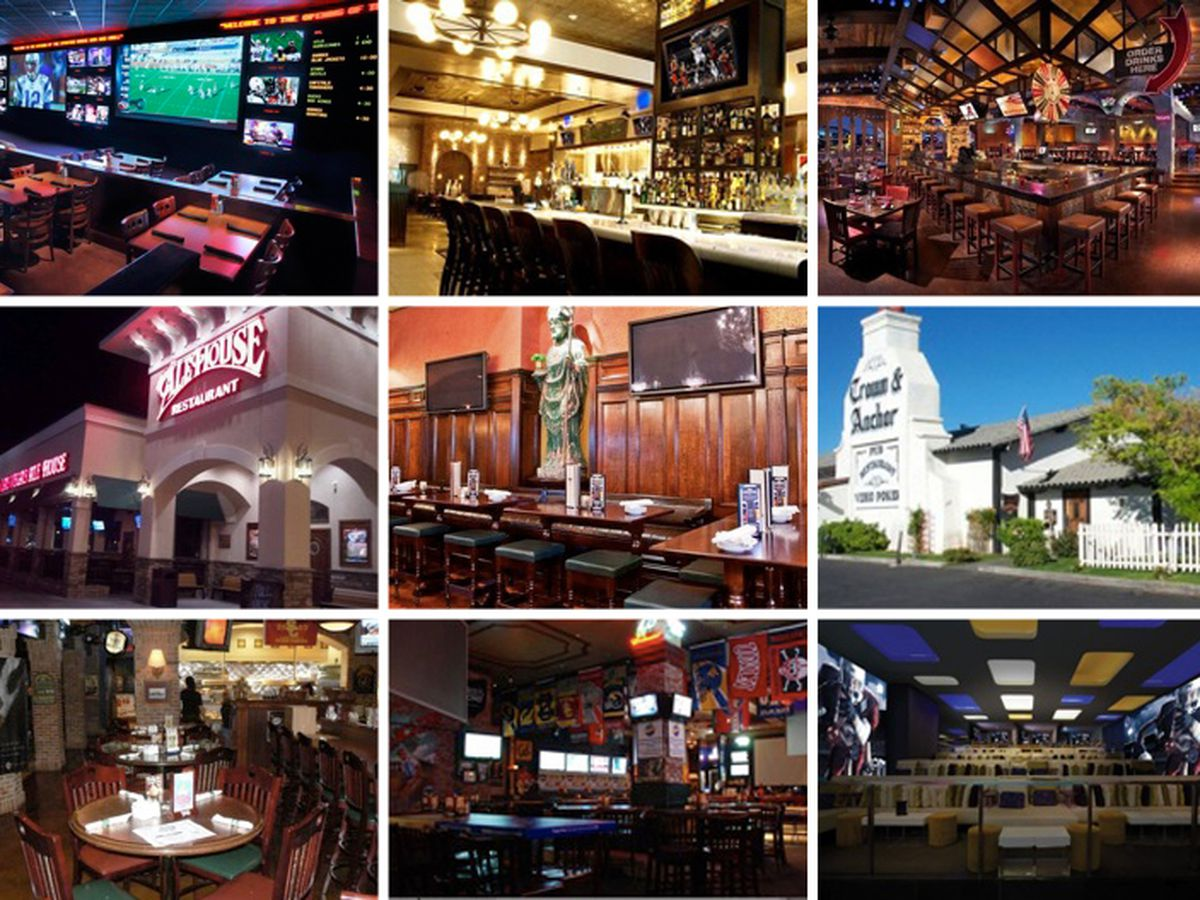 A handy guide to sports bars with great food in vegas for Food bar 527