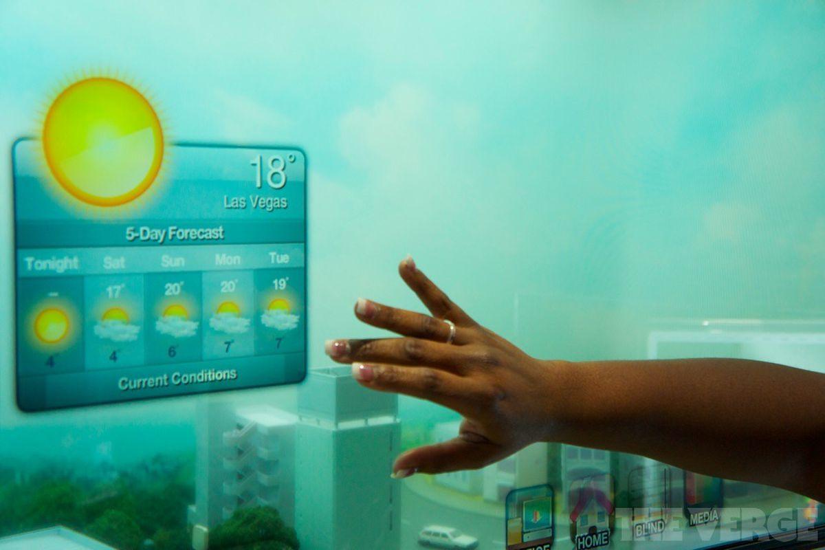 Samsung Smart Window Demonstration  Video