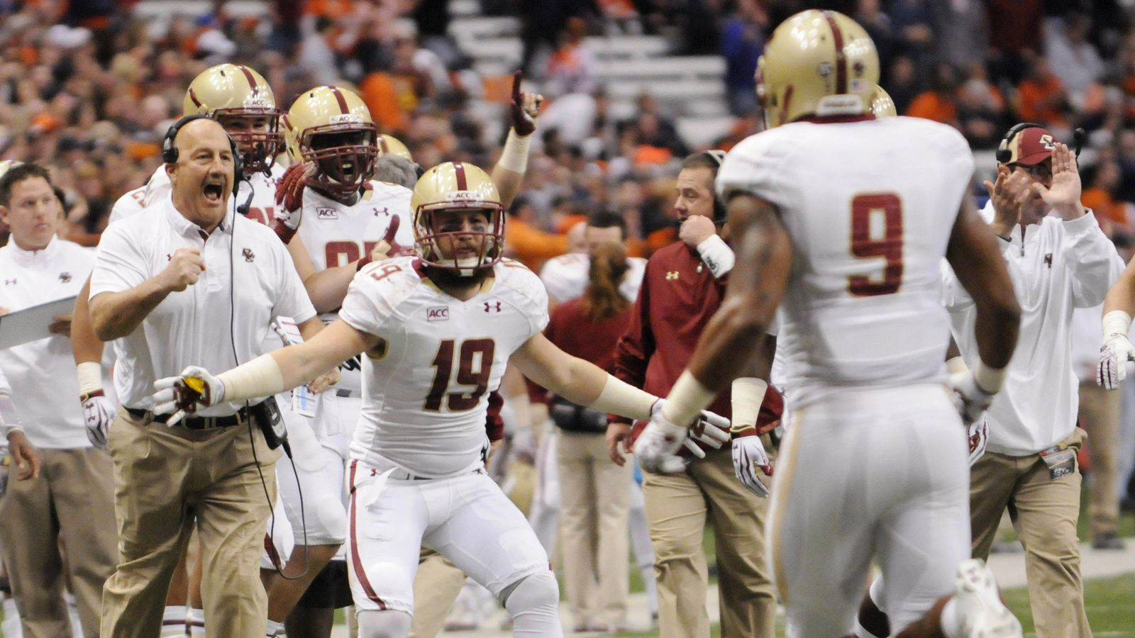 Need Boston College Eagles Football Tickets TicketCity offers 100 moneyback guarantee uptodate prices amp event information Over 1 million customers served since