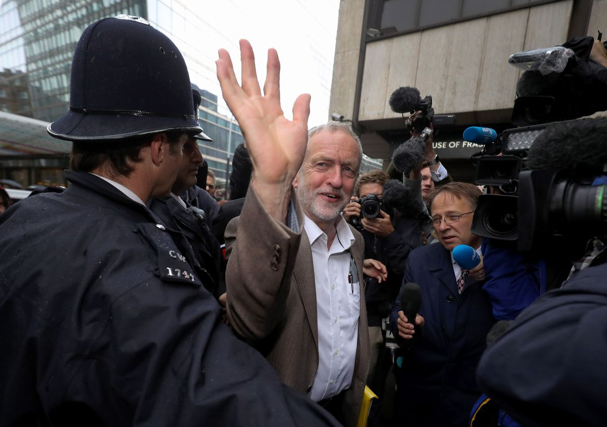 Jeremy Corbyn Attends Labour's National Executive Committee Meeting