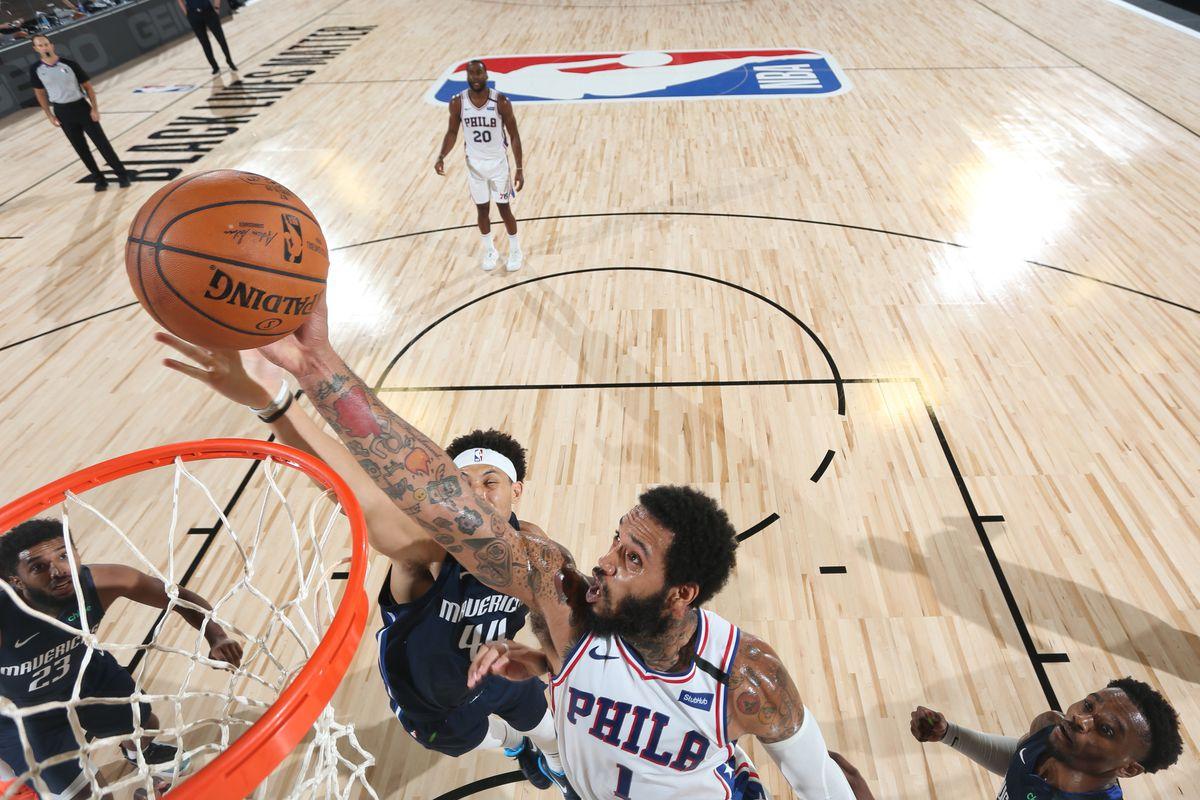 Dallas Mavericks v Philadelphia 76ers