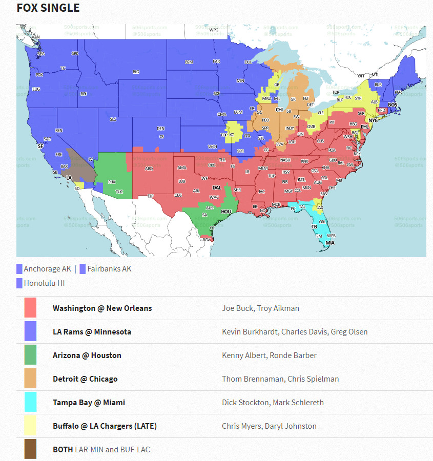 Nfl week 11 coverage map cincy jungle if youre hoping to watch the cincinnati bengals take on the denver broncos on sunday afternoon youre in luck this will be one of the biggest audiences publicscrutiny Image collections